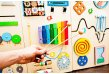 Activity board with Xylophone