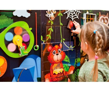 What to decorate playroom wall with?