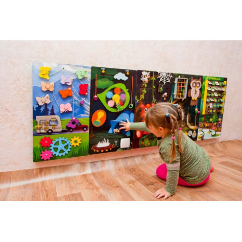Activity play panel Forest
