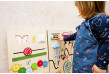 activity wall for toddlers