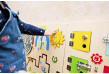 sensory wall for toddlers