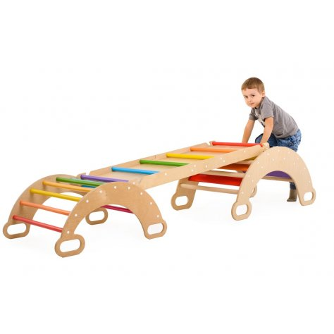 Set of Rainbow Climbing Arches (small and standart)