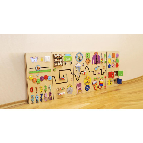Play wall panel for kid's