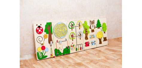Sensory board set Forest theme