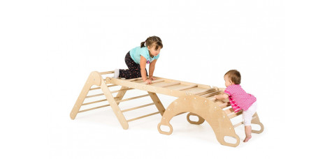 Set of 3 (triangle+arch+ramp)