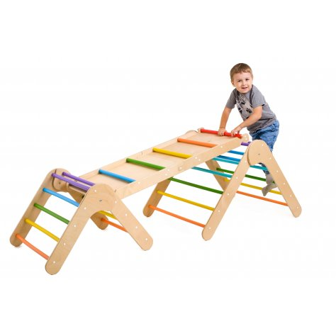Set of Transformable climbing ladders