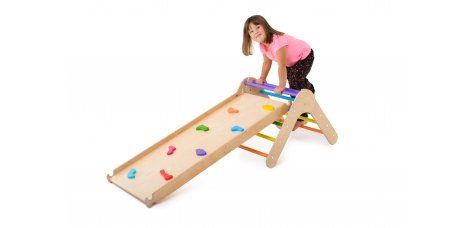 Transformable climbing ladder (colored small)