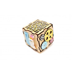 Travel Busy cube for toddlers